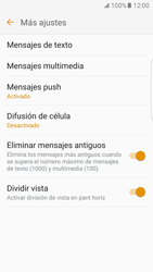 Samsung Galaxy S7 Edge - MMS - Configurar el equipo para mensajes de texto - Paso 7