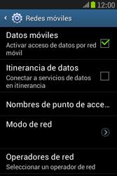 Samsung S6310 Galaxy Young - Internet - Configurar Internet - Paso 6