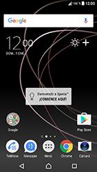 Sony Xperia XA1 - Internet - Activar o desactivar la conexión de datos - Paso 1