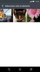 HTC One M9 - MMS - Escribir y enviar un mensaje multimedia - Paso 17