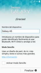 Samsung A500FU Galaxy A5 - Primeros pasos - Activar el equipo - Paso 14