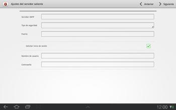 Samsung P7500 Galaxy Tab 10-1 - E-mail - Configurar correo electrónico - Paso 9