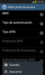 Samsung S7580 Galaxy Trend Plus - MMS - Configurar el equipo para mensajes multimedia - Paso 16