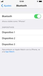 Apple iPhone 5s - iOS 11 - Connection - Conectar dispositivos a través de Bluetooth - Paso 5
