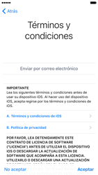 Apple iPhone 6s iOS 10 - Primeros pasos - Activar el equipo - Paso 20