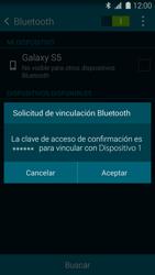 Samsung G900F Galaxy S5 - Connection - Conectar dispositivos a través de Bluetooth - Paso 7