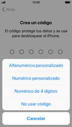 Apple iPhone SE - iOS 11 - Primeros pasos - Activar el equipo - Paso 14