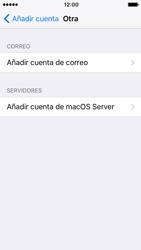Apple iPhone SE - iOS 10 - E-mail - Configurar correo electrónico - Paso 6