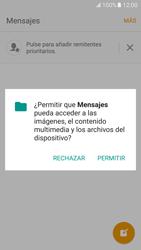 Samsung Galaxy S7 - MMS - Escribir y enviar un mensaje multimedia - Paso 5