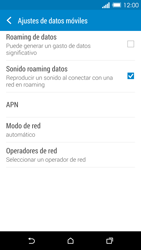 HTC One M8 - MMS - Configurar el equipo para mensajes multimedia - Paso 5