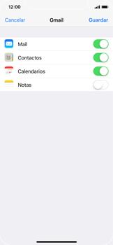 Apple iPhone X - E-mail - Configurar Gmail - Paso 8