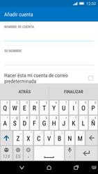 HTC One M9 - E-mail - Configurar Yahoo! - Paso 7