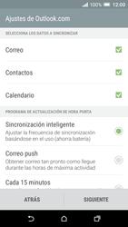 HTC One A9 - E-mail - Configurar Outlook.com - Paso 8