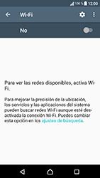Sony Xperia XA1 - WiFi - Conectarse a una red WiFi - Paso 5