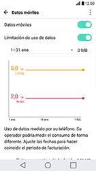 LG K10 (2017) - Internet - Ver uso de datos - Paso 10