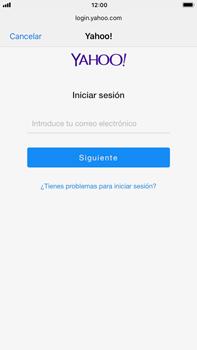 Apple iPhone 7 Plus iOS 11 - E-mail - Configurar Yahoo! - Paso 6