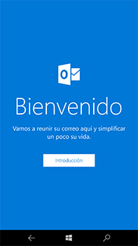 Microsoft Lumia 950 XL - E-mail - Configurar Outlook.com - Paso 4