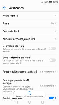 Huawei P10 Plus - MMS - Configurar el equipo para mensajes de texto - Paso 8