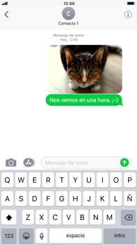 Apple iPhone 8 Plus - MMS - Escribir y enviar un mensaje multimedia - Paso 16