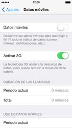 Apple iPhone 5s - Internet - Activar o desactivar la conexión de datos - Paso 5