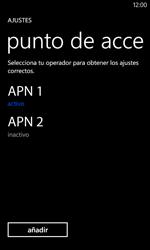 Nokia Lumia 520 - MMS - Configurar el equipo para mensajes multimedia - Paso 16