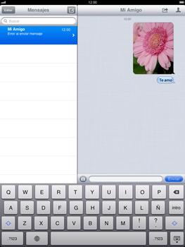 Apple iPad 2 - MMS - Escribir y enviar un mensaje multimedia - Paso 13