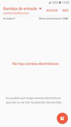 Samsung Galaxy S7 - E-mail - Configurar Yahoo! - Paso 8