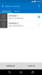 HTC One M9 - MMS - Escribir y enviar un mensaje multimedia - Paso 8