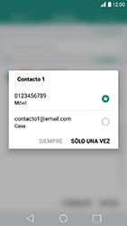 LG K10 (2017) - MMS - Escribir y enviar un mensaje multimedia - Paso 6