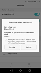 Huawei Y6 (2017) - Connection - Conectar dispositivos a través de Bluetooth - Paso 6