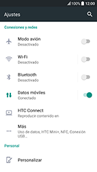 HTC 10 - Internet - Configurar Internet - Paso 5