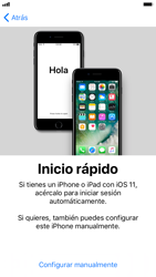 Apple iPhone 6s iOS 11 - Primeros pasos - Activar el equipo - Paso 9