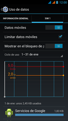 Wiko Stairway - Internet - Ver uso de datos - Paso 11