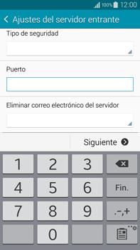 Samsung N910F Galaxy Note 4 - E-mail - Configurar correo electrónico - Paso 10