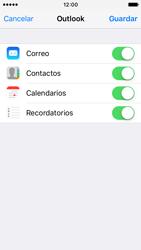 Apple iPhone SE - E-mail - Configurar Outlook.com - Paso 8