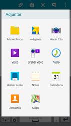 Samsung G900F Galaxy S5 - E-mail - Escribir y enviar un correo electrónico - Paso 11