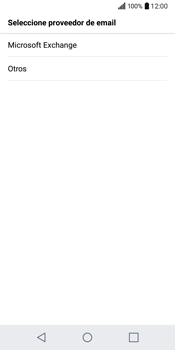 LG Q6 - E-mail - Configurar correo electrónico - Paso 6