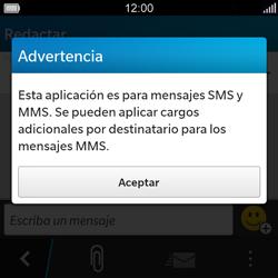 BlackBerry Q5 - MMS - Escribir y enviar un mensaje multimedia - Paso 4