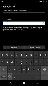 Microsoft Lumia 950 XL - E-mail - Configurar Yahoo! - Paso 9