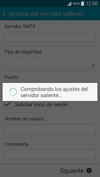 Samsung N910F Galaxy Note 4 - E-mail - Configurar correo electrónico - Paso 15
