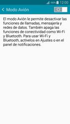 Samsung A500FU Galaxy A5 - Red - Activar o desactivar el modo avión - Paso 5
