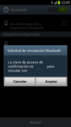 Samsung I9300 Galaxy S III - Connection - Transferir archivos a través de Bluetooth - Paso 11