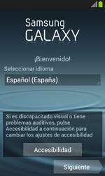 Samsung I8260 Galaxy Core - Primeros pasos - Activar el equipo - Paso 2