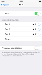 Apple iPhone 6 iOS 8 - WiFi - Conectarse a una red WiFi - Paso 5