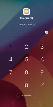 LG G6 - Primeros pasos - Activar el equipo - Paso 3