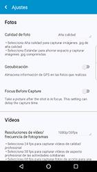 BlackBerry DTEK 50 - Red - Uso de la camára - Paso 8