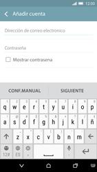 HTC One M9 - E-mail - Configurar Yahoo! - Paso 5