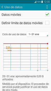 Samsung N910F Galaxy Note 4 - Internet - Ver uso de datos - Paso 5