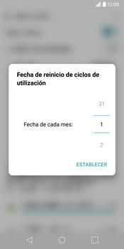 LG G6 - Internet - Ver uso de datos - Paso 6
