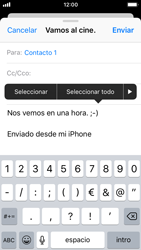 Apple iPhone 5s - iOS 11 - E-mail - Escribir y enviar un correo electrónico - Paso 9